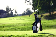 gone for the holidays (rxndr) Tags: golf relax stockholm stock danderyds mrby