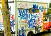 Tagged up Uhaul (JameeL STAR) Tags: street truck philly uhaul photogarpher southwestphilly jameelstarphotography