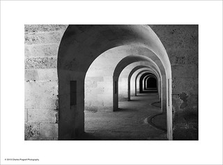 Arches at La Mola, Menorca