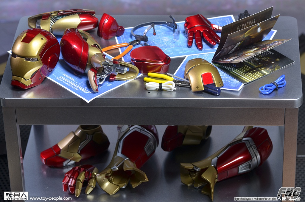Hot Toys MMS 191 鋼鐵人3:東尼.史塔克(實驗場景版)開箱報告