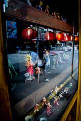 Japanese Reflection (Jack the Traveler) Tags: travel japan canon lens photography japanese restaurant photo photographer south manga kitlens korea korean figurines seoul z kit traveling amateur dragonball 600d