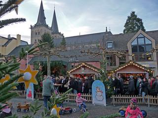 Kerstmarkt bij de Dom in Xanten