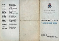1961-ASSOCIAZIONE ARTISTI MONZESI-PREMIO DI PITTURA-IL LAMBRO NEL PAESAGGIO