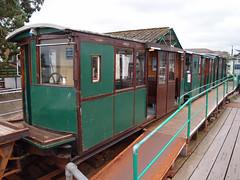 Hythe Pier Railway, Hythe, Hampshire. UK (Man of Yorkshire) Tags: original electric train pier dc stock rail railway trains hampshire third gauge narrow rolling hythe 2ft 250v