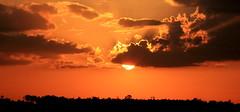 Sunset - Sun descending from the clouds (subhashish.paul) Tags: light sunset portrait sky cloud sun india color nature clouds canon landscape photography lights evening photo exposure photos bangalore creative images autofocus yelahanka top20sunsetsofourhearts canon550d cannon550d