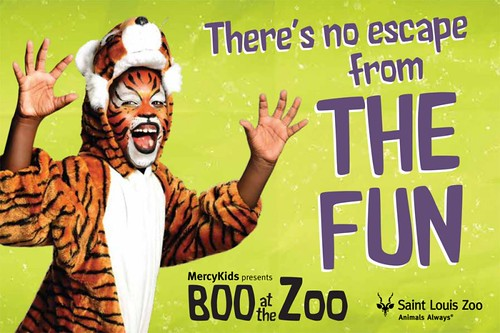 St. Louis Zoo Boo at the zoo