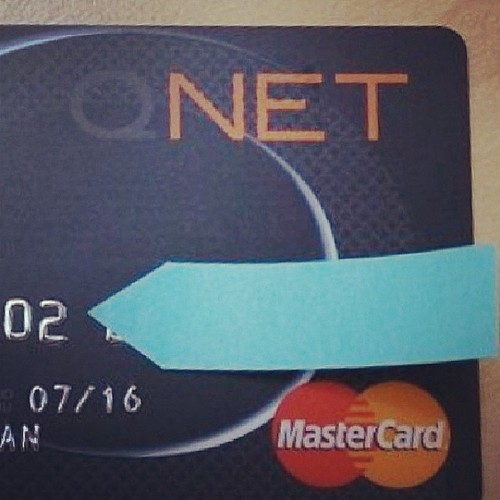 @qmarco just received his very own #QNET Prepaid #MasterCard! Congratsss!