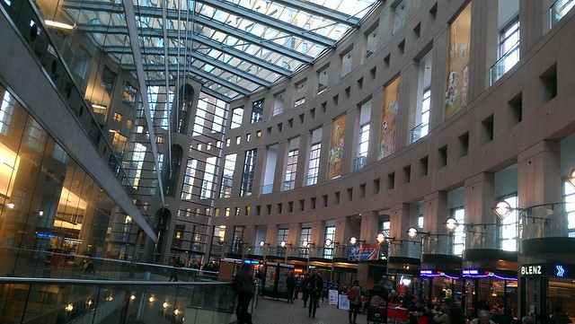 <p>Our screening venue - Vancouver Public Library</p>