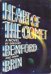 Benford, Gregory - Heart of the Comet (1986 BCE HB) (sdobie) Tags: 1986 benford books brin comet covers hamagami heart export 1750views