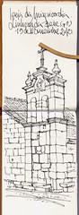 linhares da Beira (j. acilu) Tags: pen sketch drawing sketchbook pluma dibujo
