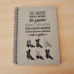 Libreta zapatos Ollo de pez (Ollo de pez) Tags: regalos regalitos baratas libretas regalooriginal baratitos regalosdiferentes regalosbaratos ollodepez regalosnicos diariospersonalizados libretasoriginales libretaspersonalizadas