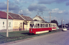 Once upon a time - Yugoslavia (Croatia) - Osijek / Ezék / Esseg (railasia) Tags: osijek croatia sixties yugoslavia routenº6 motorcartrailer atometergauge