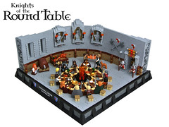 Knights of the Round Table (Disco86) Tags: castle classic arthur king lego contest round ccc colossal artus arthurian artussage cccxi vision:outdoor=0938