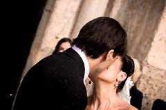 first kiss (violaklis) Tags: wedding portrait groom bride kiss milano romantic sambrogio