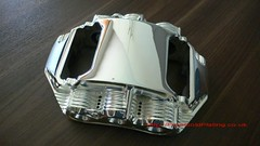 Silver Plated F1 Calliper - Silver Arrow (PureGoldPlating) Tags: f1 formula1 silverplated brakecalliper silverplating silverarrowcar