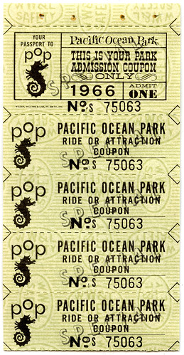 Pacific Ocean Park tickets