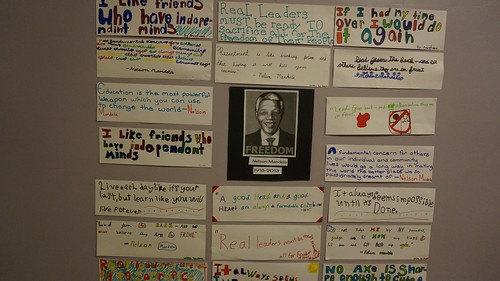 Nelson Mandela Quotes by Mr. Marchyok's Students
