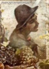 Eugenio Prati Contadino con uva