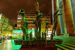 _DSC0894 (Abiola_Lapite) Tags: travel winter statue night nacht sweden stockholm schweden architektur sverige nikkor 建築 hötorget d800 concerthall natten konserthuset スウェーデン 夜 norrmalm 2013 orfeusbrunnen ストックホルム 2470mmf28g orpheusgroup