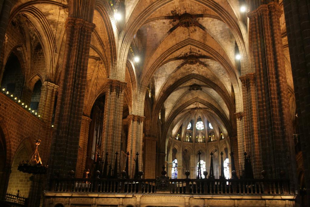 Intérieur de la cathédrale Sainte Eulalie