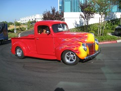 1940 Ford (Bob the Real Deal) Tags: ford truck flames fresno 1940ford canonsd850 1940fordpickup hotrodsfresno rodsonthebluff hotrodcoalition
