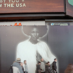Times Square   New York City (OQ62) Tags: street nyc newyorkcity urban film night analog 35mm timessquare canonae1 42ndstreet