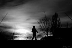 Silhouette (JayPiDee) Tags: sky blackandwhite bw germany deutschland blackwhite pentax natur himmel wolken sigma pedestrian cielo sw dortmund passerby nordrheinwestfalen atmospheric germania stimmungsvoll passant hrde schwarzweis k30 phoenixsee sigma18250dcmacro sigma18250mmf3563dcmacro