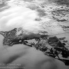 Clouds Over the Shore (Parkguy (David Legg)) Tags: airplane aerialview fivemileshigh