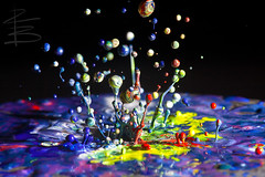 Just (RichardBeech (Catching Up)) Tags: music abstract macro art drops paint dancing just messy speaker splash radiohead bouncing vibration gooey speedlite klimas sigma15028macro 580exii canon5dmarkii eyetunes richardbeech whatmusiclookslike comeslikeacometsuckeredyoubutnotyourfriends