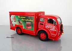 1955 White 3014 WLB C.O.E. Delivery Service Truck (JCarnutz) Tags: christmas white 1955 cocacola coe diecast 124scale danburymint