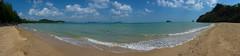 Profiter seul..... (Charles EYES PiX) Tags: ocean beach island boat sable ile phuket bateau plage paradis palmier sud thailande kohyaonoi eyespix