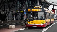 #2185 (~kraviec) Tags: city bus transport poland polska terminal urbino autobus solaris aiport mpk lodz d lotnisko 2185 maczka solarisurbino18 mpkd