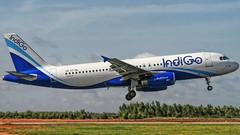 Indigo A320 VT-INL (Aiel) Tags: bangalore indigo airbus a320 canon400d sigma18200os vtinl