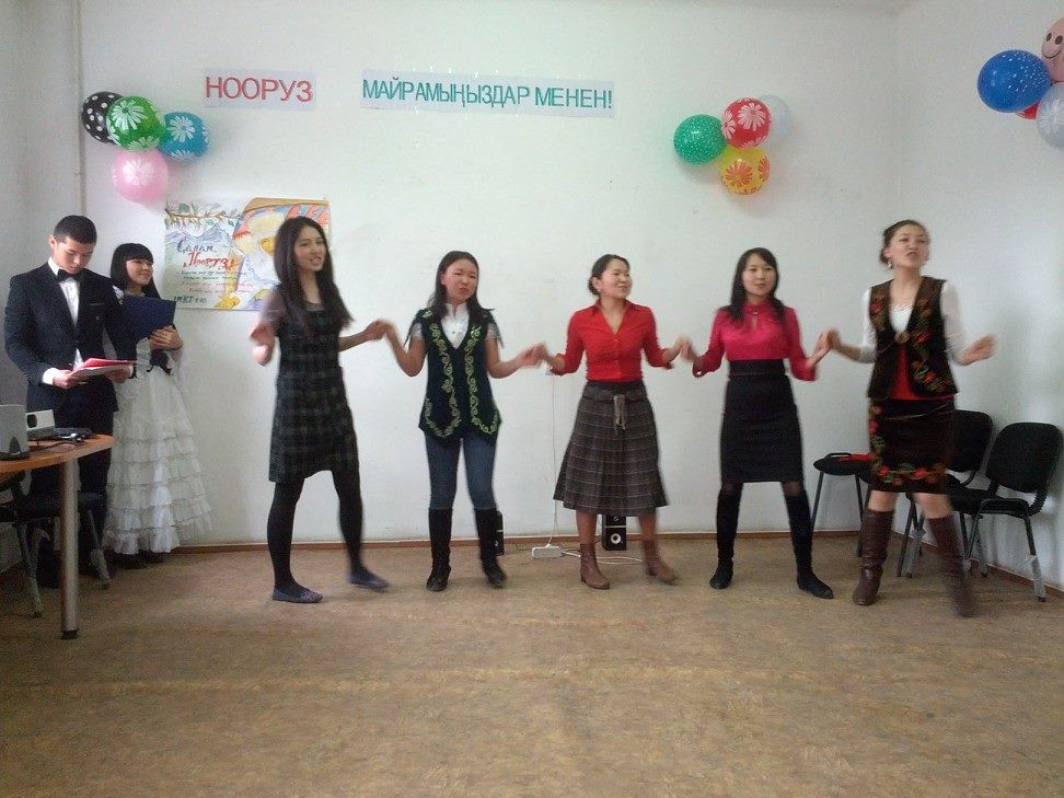 Spence - Nooruz Celebration in Bishkek, Kyrgyzstan