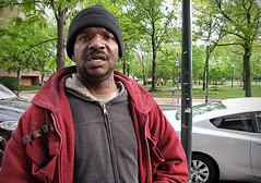 Terrence (Charlie O'Hay) Tags: poverty philadelphia homeless philly westphilly universitycity panhandling homelessness everyonehasaname