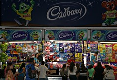 2014 Sydney Royal Easter Show: Cadbury Showbag Pavilion (dominotic) Tags: food rural candy chocolate sydney australia cadbury lolly nsw sweets newsouthwales produce agriculture ras amusements farmanimals sideshow homebush theshow artsandcrafts 2014 eastershow sydneyroyaleastershow lifestock agriculturalshow sideshowalley citymeetscountry producedisplay showbagpavilion