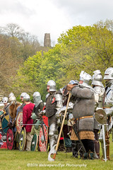 [2014-04-19@15.09.54a] (Untempered Photography) Tags: history costume helmet battle medieval weapon sword knight shield tor armour reenactment combatant chainmail glastonburytor canonef50mmf14 perioddress polearm buckler platearmour gambeson poleweapon mailarmour untemperedeye canoneos5dmkiii untemperedeyephotography glastonburymedievalfayre2014