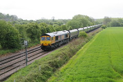 66703 with West Burton - Down Decoy (parkgateparker) Tags: gbrf 66703 northanston southyorkshirejoint syjnt