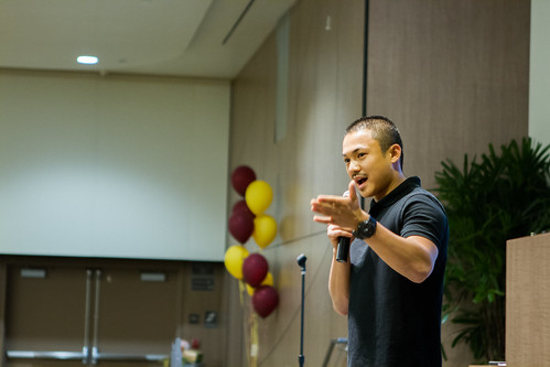 """You can't let struggle hold you back, you have to let it enable you to do better.""-Gavin Senteno (pictured here), President of Associated Students Inc. at CSU Dominguez Hills • <a style=""font-size:0.8em;"" href=""https://www.flickr.com/photos/31789702@N05/14167601841/"" target=""_blank"">View on Flickr</a>"