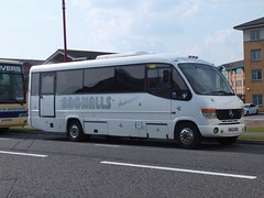 Bagnalls BAG563S Pride Park (Guy Arab UF) Tags: buses mercedes benz coach derbyshire cheetah midi derby plaxton bagnalls o814 bag563s