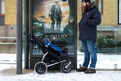 Chariots of Sweden (b e s t i l l p h o t o g r a p h y) Tags: baby snow sweden stroller gothenburg pram gbg chariots chariotsgbgsweden