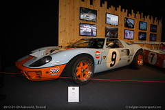 1964 Ford GT40 MkII (belgian.motorsport) Tags: brussels ford museum expo bruxelles racing legends belgian brussel 1964 2012 mkii gt40 autoworld