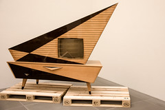 vintage tv (the-father) Tags: new classic museum vintage germany bayern bavaria design tv nuremberg nuernberg
