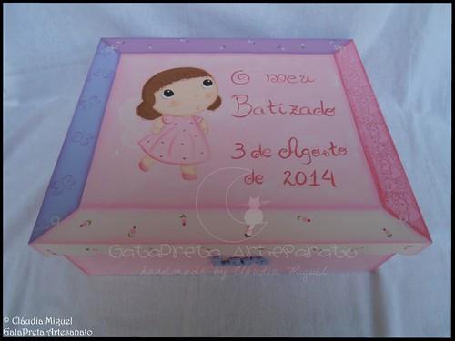 "Caixa grande de batizado ""La Petite Fée"""