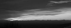 Tramonto B&W. (dalilacapelli) Tags: winter bw cold tramonto neve bergamo bianco freddo nero bg biancoenero
