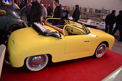 Panhard Dyna Junior (benoits15) Tags: old classic cars car vintage french automobile automotive voiture historic retro collection junior nimes et coches panhard prestige dyna anciennes 2015 worldcars