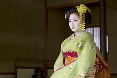 Sitting maiko (Japanexperterna.se) Tags: japan japanese kyoto maiko geiko geisha 京都 日本 祇園 chionin 芸者 知恩院 和室 茶室 芸妓 舞妓 芸子 たたみ お茶室