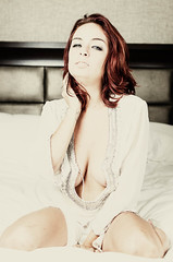 Ashley Graham FetCon2014-2.jpg (David Arran Photography) Tags: model nikon lingerie redhead neglige fetishcon davidarranphotography