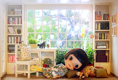(maryPOP(!)) Tags: sol custom diorama dollhouse blythedoll customblythe casadeboneca roombox playscale modernminiature