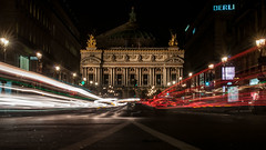 A (k)night@the opera (Joost A) Tags: light paris opera long exposure trails garnier parijs